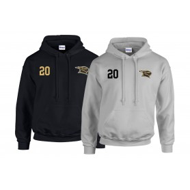 Rendsburg Knights - Embroidered Number Hoodie