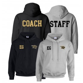 Rendsburg Knights - Printed and Embroidered Coach or Staff Hoodie