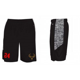 Kent Phoenix - Embroidered Sport Blend Panel Shorts