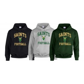 Bury Saints - Football Logo Hoodie