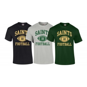 Bury Saints - Custom Ball Logo 1 T-Shirt