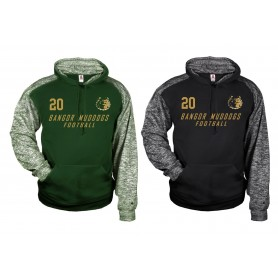Bangor Mud Dogs - Printed Sports Blend Hoodie