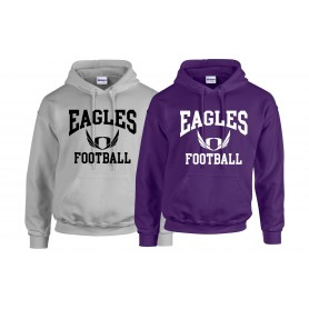 Ouse Valley Eagles - Football Logo Hoodie
