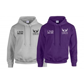 Ouse Valley Eagles - Custom Embroidered Hoodie