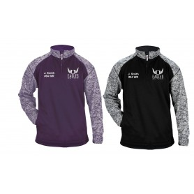 Ouse Valley Eagles - Customised Embroidered Tonal Blend Sport 1/4 Zip