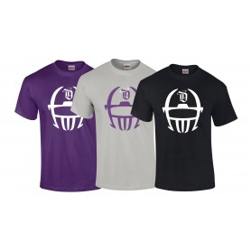 Durham Saints - Helmet Logo T-Shirt