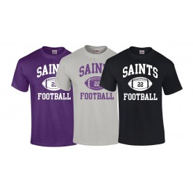 Durham Saints - Custom Ball Logo T-Shirt