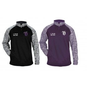 Durham Saints - Customised Embroidered Tonal Blend Sport 1/4 Zip