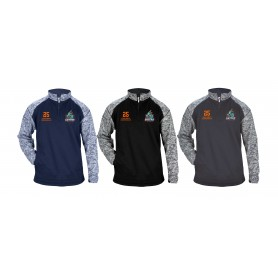 Gwent Gators - Customised Embroidered Tonal Blend Sport 1/4 Zip