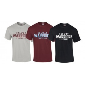 Galway Warriors - Text Logo T-Shirt 1