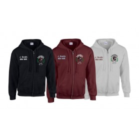 Galway Warriors - Custom Embroidered Zip Hoodie