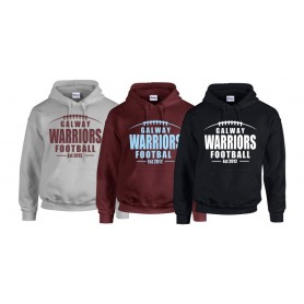 Galway Warriors - Laces Logo Hoodie