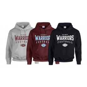 Galway Warriors - Custom Ball Logo Hoodie 2