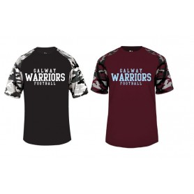 Galway Warriors - Camo Performance Tee