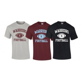 Galway Warriors - Custom Ball Logo T-Shirt 1