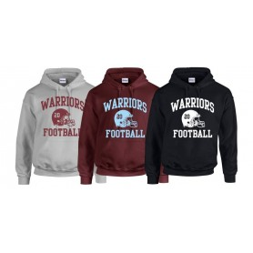 Galway Warriors - Custom Ball Logo Hoodie 1