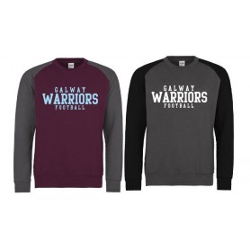 Galway Warriors - Printed Baseball Sweatshirt