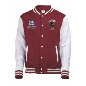 Galway Warriors - Customised Embroidered Varsity Jacket