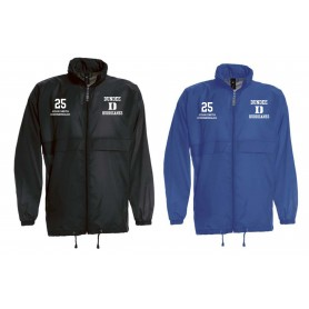 Dundee Hurricanes - Lightweight College Rain Jacket