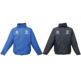 Dundee Hurricanes - Custom Embroidered Heavyweight Dover Rain Jacket