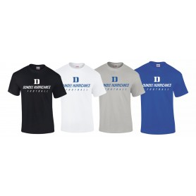 Dundee Hurricanes - Text Logo T-Shirt