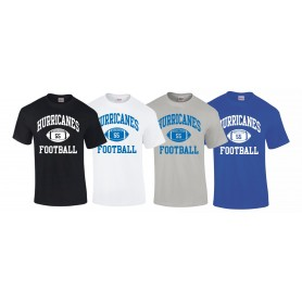Dundee Hurricanes - Custom Ball Logo T-Shirt 1