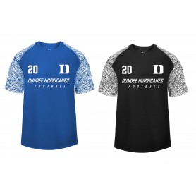 Dundee Hurricanes - Printed Blend Performance Tee