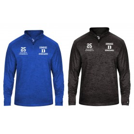 Dundee Hurricanes - Customised Embroidered Tonal Blend Sport 1/4 Zip