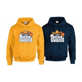 Golden Sombreros - Full Logo with Name and Number Hoodie