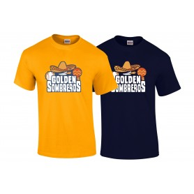 Golden Sombreros - Full Logo T-Shirt