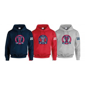 Invicta Junior Ice Hockey Club - Custom Sticks Logo Hoodie