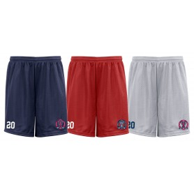 Invicta Junior Ice Hockey Club - Customised Embroidered Mesh Shorts