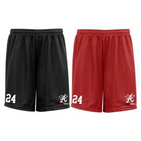 Aberdeen Oilcats - Embroidered Mesh Shorts