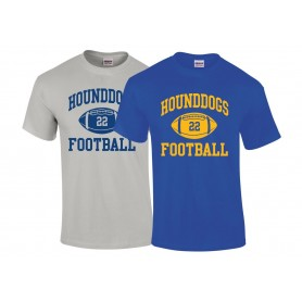 Hellingly Hound Dogs - Custom Ball Logo T-Shirt 1