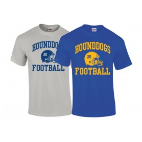 Hellingly Hound Dogs - Custom Side Logo T-Shirt