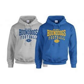 Hellingly Hound Dogs - Custom Ball Logo Hoodie 2