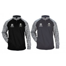 Knottingley Raiders - Embroidered Tonal Blend Sport Quarter Zip