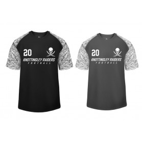 Knottingley Raiders - Printed Blend Performance Tee
