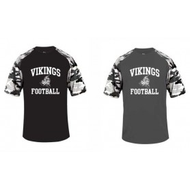 Newcastle Vikings - Printed Camo Sport Tee
