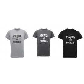 Newcastle Vikings - Football Logo TriDri Performance Tee