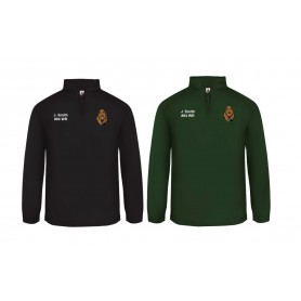 Nottingham Bears - Customised Embroidered 1/4 Zip Poly Fleece Pullover