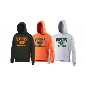 Sheffield Vipers - Custom Ball Logo Hoodie 1