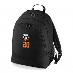 Rugby Raccoons - Custom Embroidered Backpack