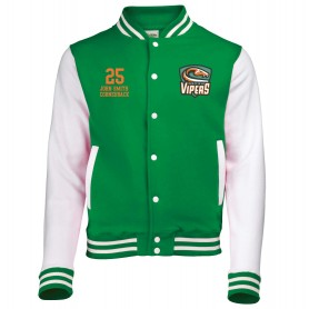 Sheffield Vipers - Embroidered Varsity Jacket