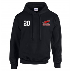 Denain Coyotes - Embroidered Number Hoodie