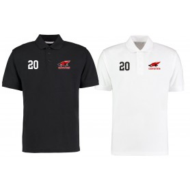 Denain Coyotes - Embroidered Number Polo Shirt