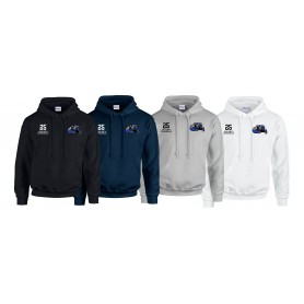 Heriot Watt Wolverines - Customised Embroidered Hoodie