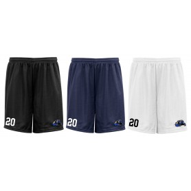 Heriot Watt Wolverines - Embroidered Mesh Shorts