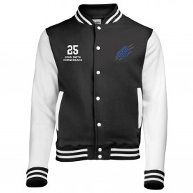 Heriot Watt Wolverines - Embroidered Varsity Jacket