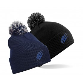 Heriot Watt Wolverines - Embroidered Bobble Hat